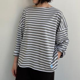 【ノベルティ対象】ワイドボートネックTシャツ REGULAR WOMEN
