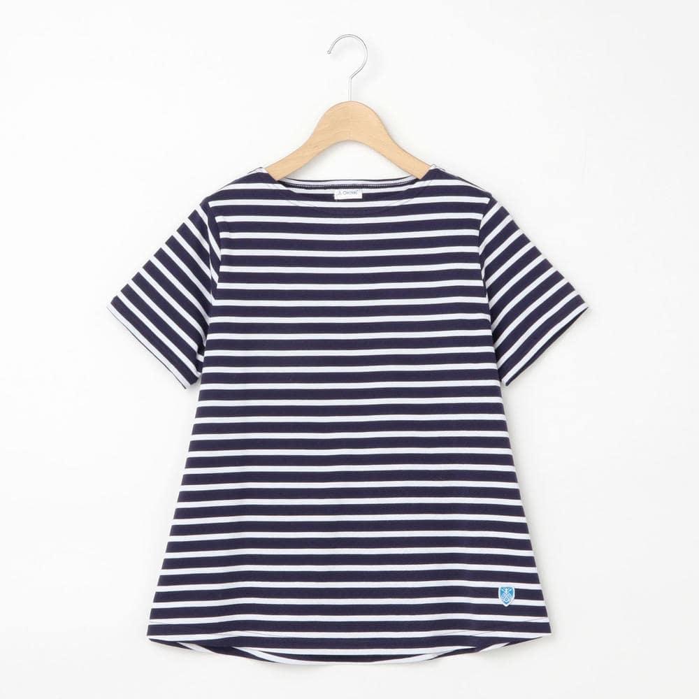 【フェア対象】ボートネック フレアTシャツ WOMEN