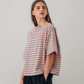 ワイドTシャツ 3STRIPE WOMEN
