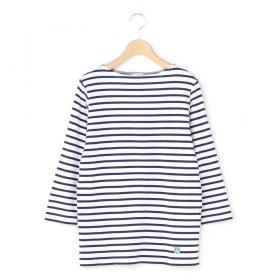 ボートネック7分袖Tシャツ WOMEN
