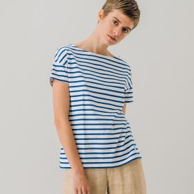 ルーズボートネックTシャツ ST WOMEN