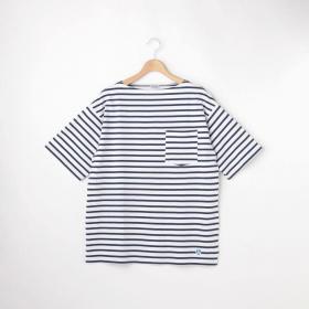 【先行予約】コットンモヨン ボートネックポケットTシャツ MEN