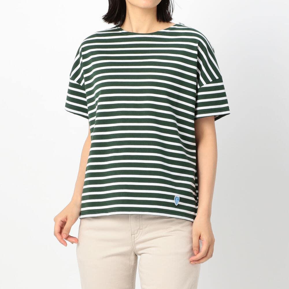 ワイド半袖Tシャツ WOMEN