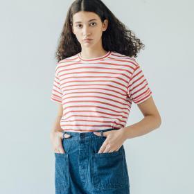 コットンスムースTシャツ WOMEN