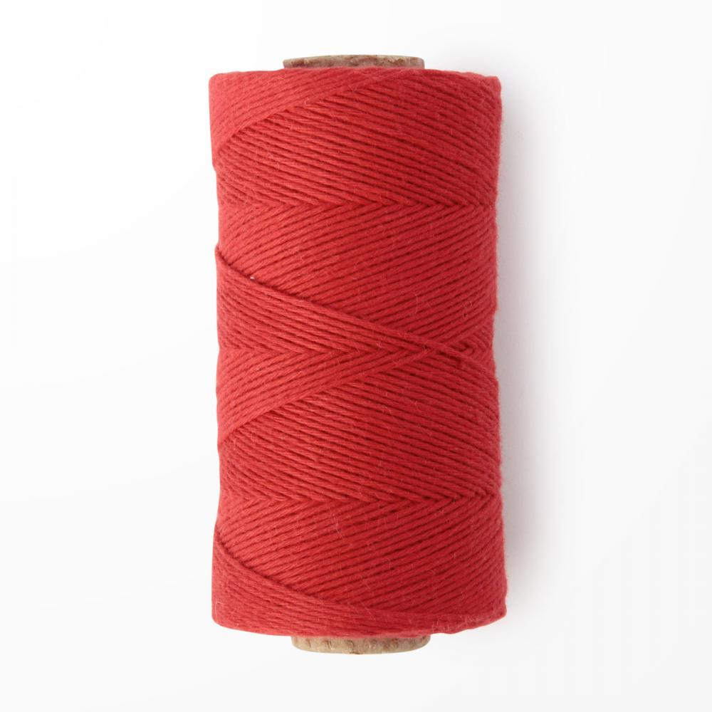 H266 RED COTTON STRING