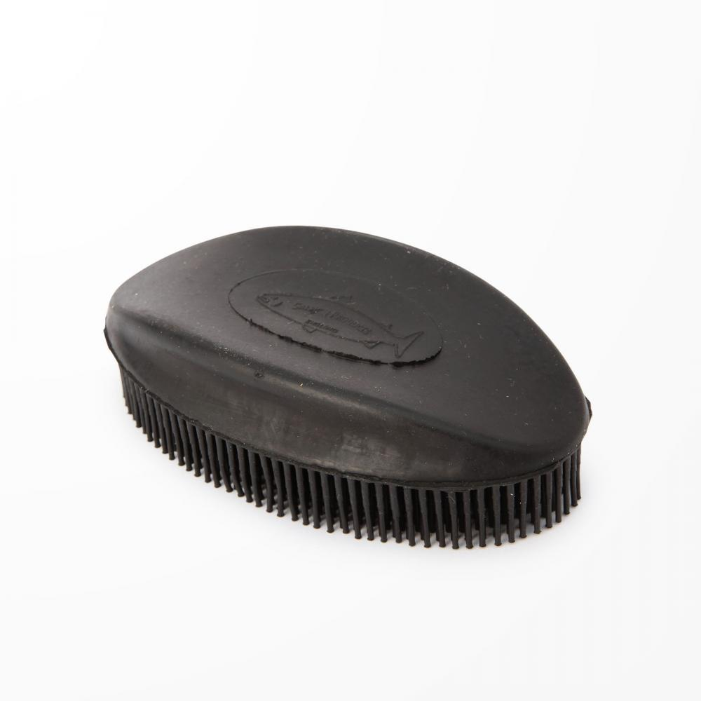H013 RUBBER GROOMING BRUSH