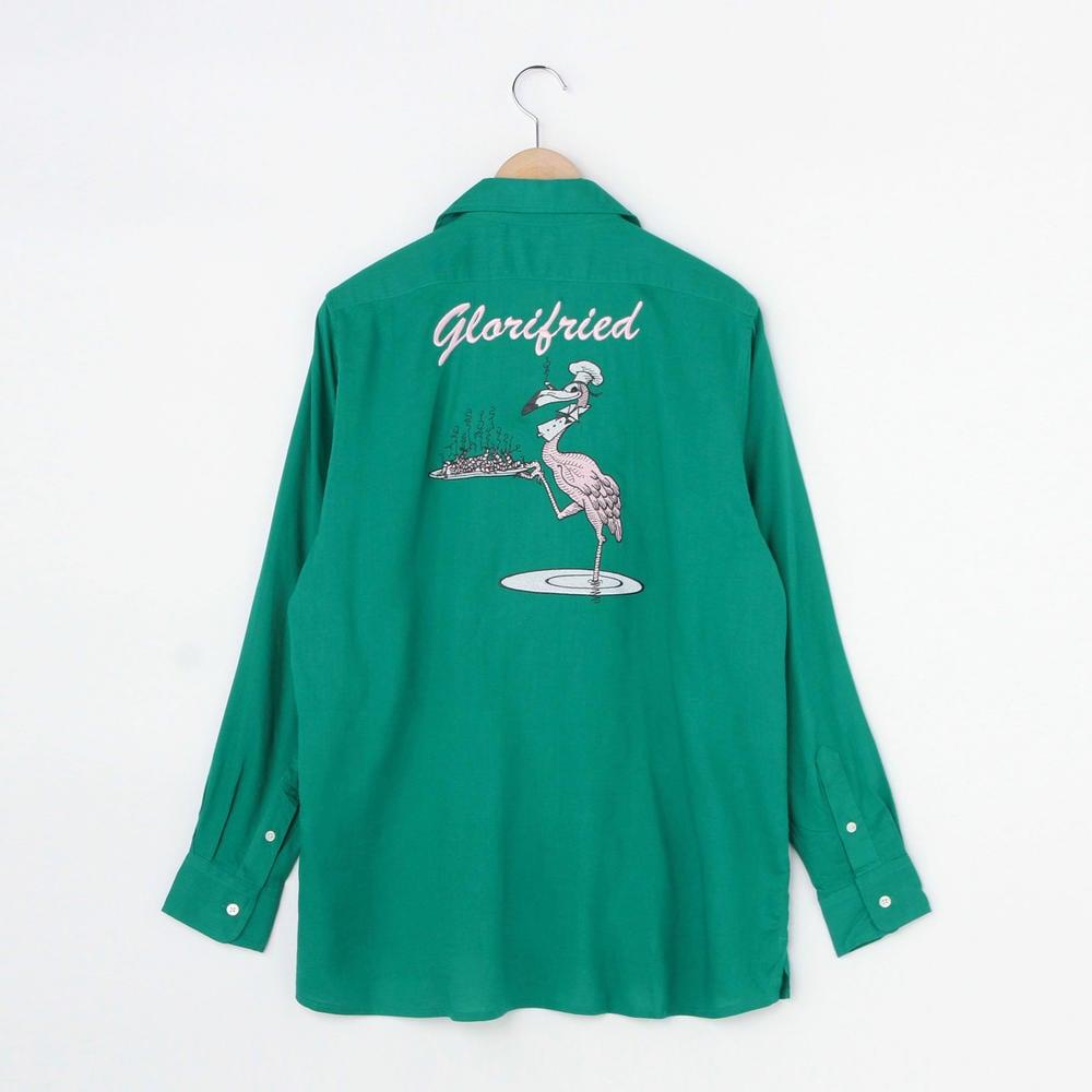 ボーリングシャツ GREEN MEN