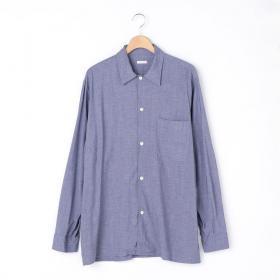 ヴィスコースウール オープンカラーシャツ MEN