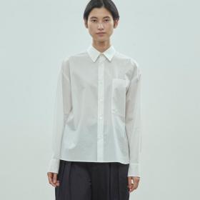 バックギャザーシャツ WOMEN