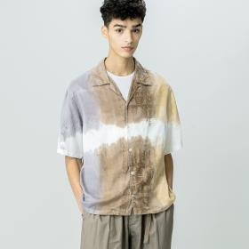 3ダイオープンカラーシャツ MEN
