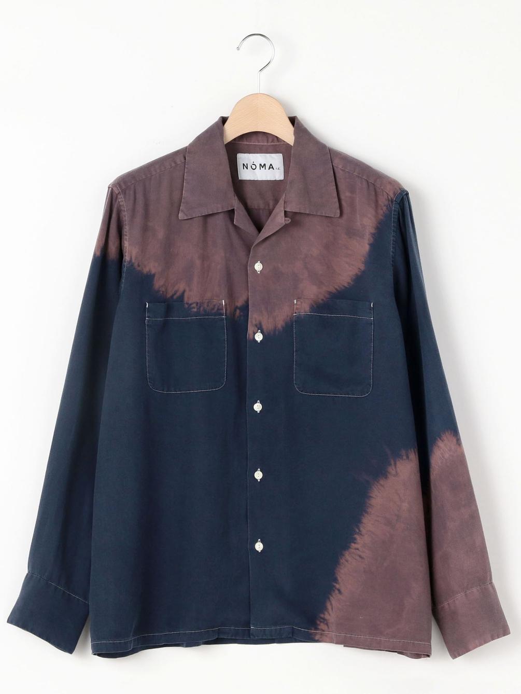 【OUTLET】ブリーチオープンカラーシャツ MEN
