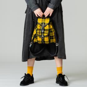 スモール リュックサック Yellow WOMEN