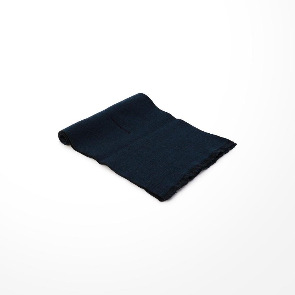 ダブルフェイスウールスカーフ