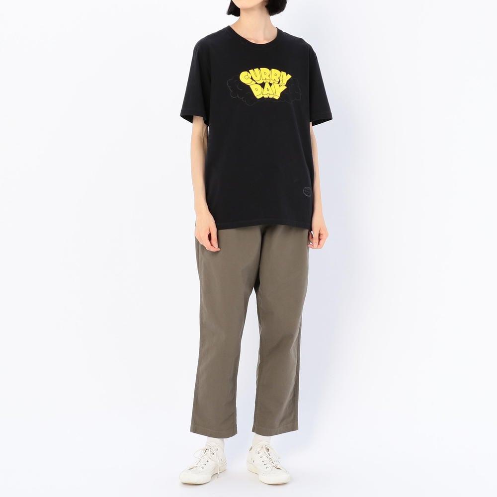 CURRY 半袖Tシャツ BLACK WOMEN