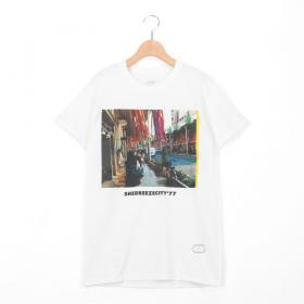 半袖プリントTシャツ GASATANG WOMEN