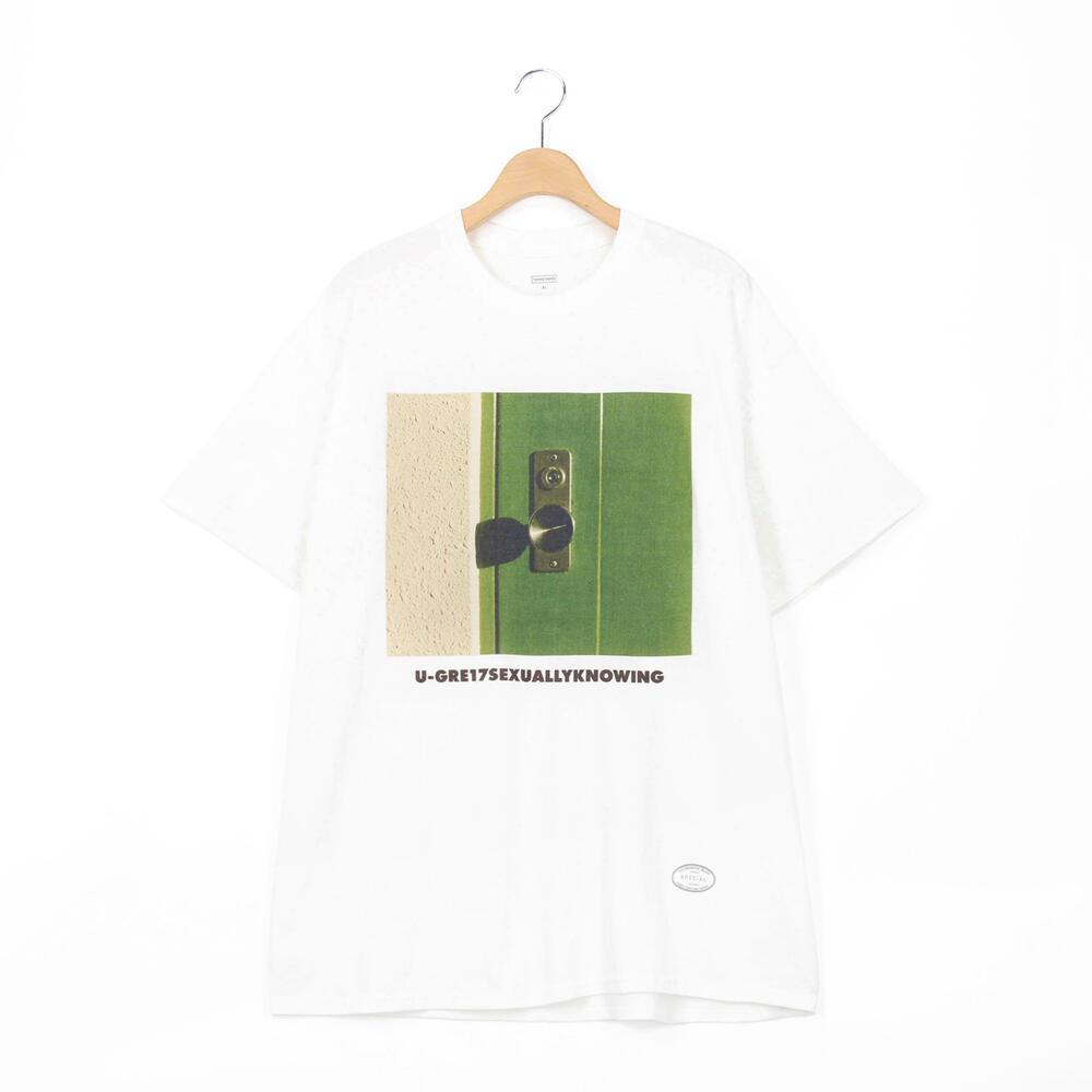半袖プリントTシャツ GASATANG MEN