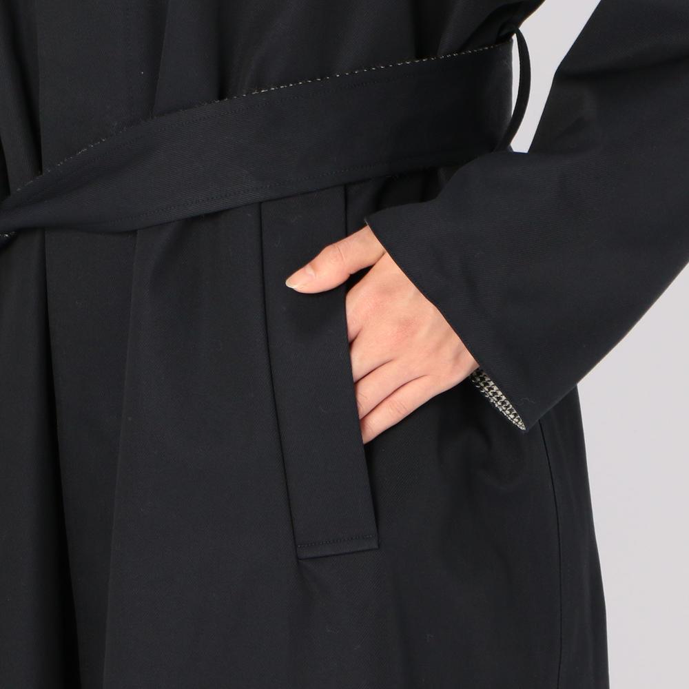 〈別注〉リバーシブル ステンカラーコート WOMEN