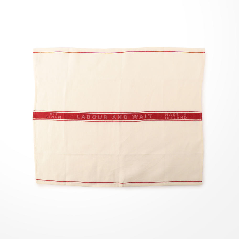 K249-01-30-01 LINEN TEA TOWELwith L&W Logo