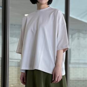 バックネックスリットTシャツ WOMEN