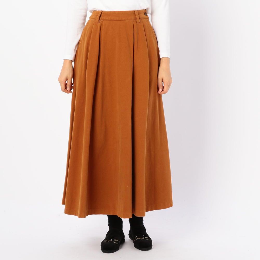 モールスキンスカート WOMEN
