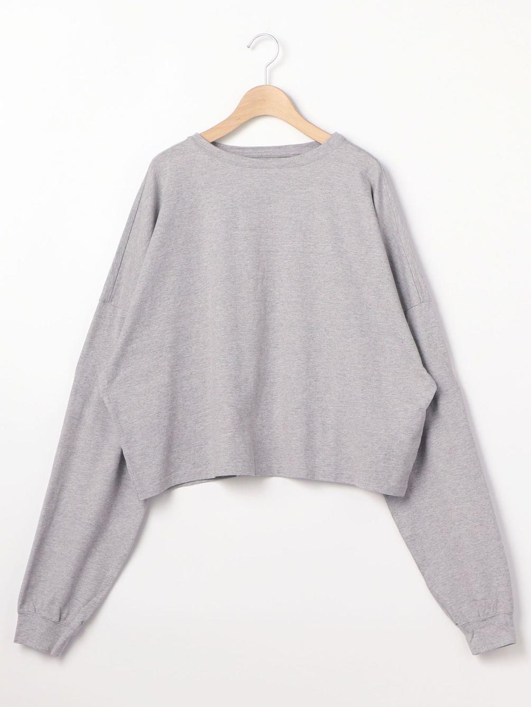 【OUTLET】ルーズスウェットシャツ WOMEN
