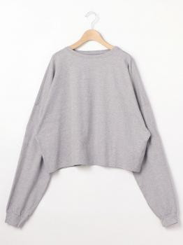 ルーズスウェットシャツ WOMEN