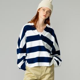 スキッパーシャツ STRIPE  WOMEN