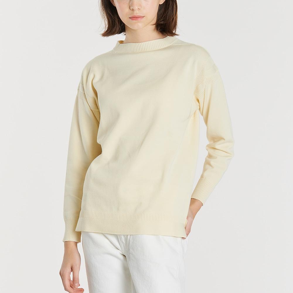 コットンガンジーセーター SOLID WOMEN