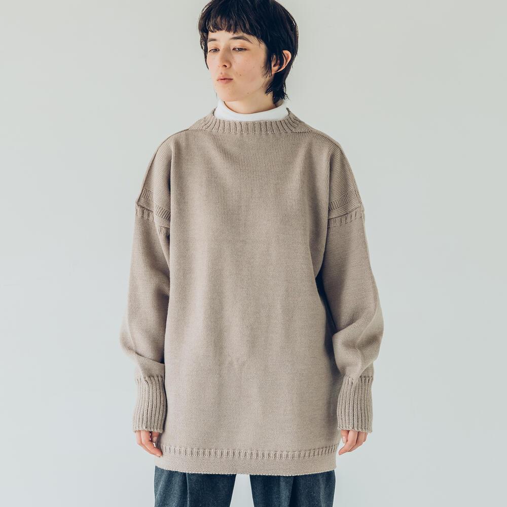 トラディショナル ウールガンジーセーター UNISEX