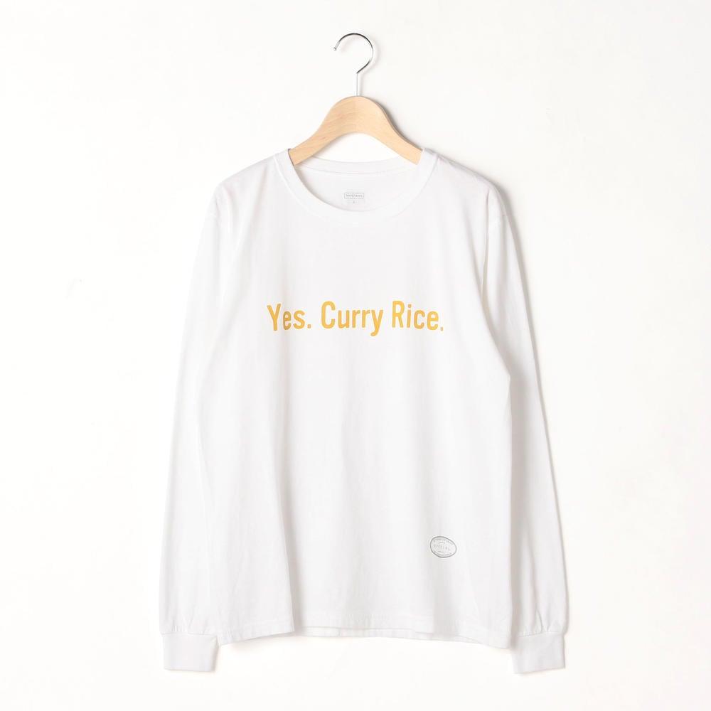 〈別注〉長袖プリントTシャツ YES WOMEN