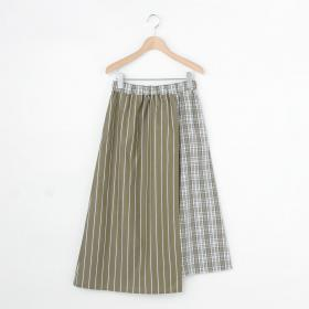 〈別注〉コンビネーションスカート WOMEN