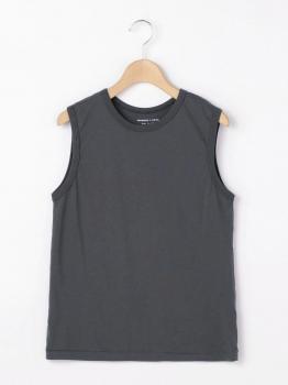クルーネックノースリーブTシャツ WOMEN