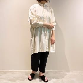 ワイドシャツドレス WOMEN