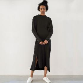 ローシルクリブジャージー Tシャツドレス WOMEN