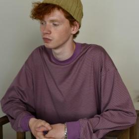 オーガニックコットン 長袖Tシャツ MEN