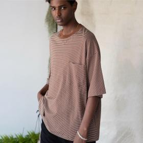 オーガニックコットン 半袖Tシャツ MEN