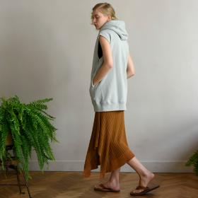 リブニットスカート WOMEN