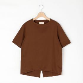 バックスリット 半袖Tシャツ WOMEN