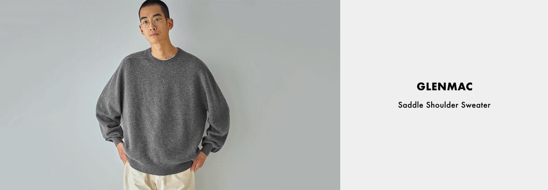 Glenmac | Saddle Shoulder Sweater