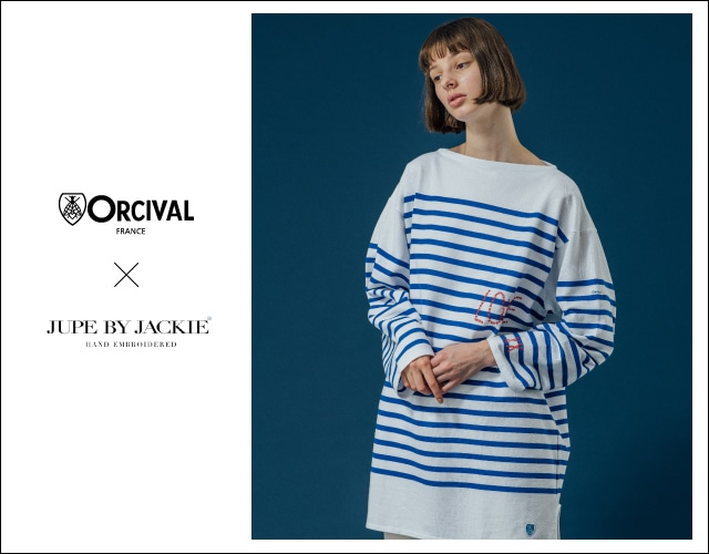 ORCIVAL×JUPE