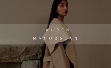【LAUREN MANOOGIAN】ブルックリンを拠点にしたライフスタイルブランド